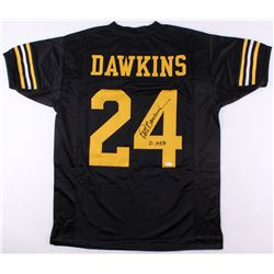 """Pete Dawkins Signed Army Black Knights Jersey Inscribed """"H-1958"""" (JSA COA)"""