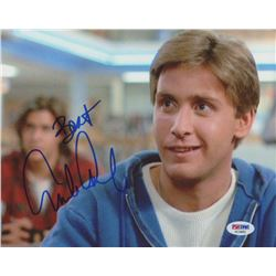 "Emilio Estevez Signed ""The Breakfast Club"" Inscribed ""Best"" 8x10 Photo (PSA COA)"