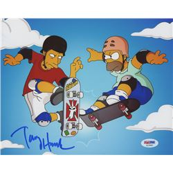 "Tony Hawk Signed ""The Simpsons"" 8x10 Photo (PSA COA)"