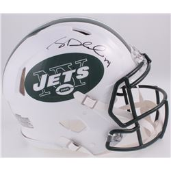 Sam Darnold Signed Jets Full-Size Authentic On-Field Speed Helmet (Darnold Hologram)