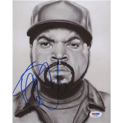 Ice Cube Signed 8x10 Photo (PSA COA)