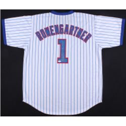 """Thomas Ian Nicholas Signed """"Rookie of the Year"""" Cubs Jersey Inscribed """"Throw the Heat!"""" (JSA COA)"""