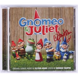 "Elton John Signed  ""Gnomeo and Juliet Original Soundtrack"" CD Album Cover (REAL LOA)"
