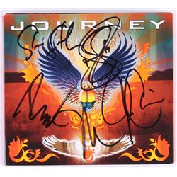 "Journey ""Revelation"" CD  DVD Live Album Cover Signed By (5) With Neal Schon, Steve Smith, Jonathan C"