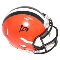Baker Mayfield Signed Browns Mini Helmet (Steiner COA)