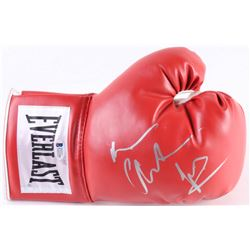 "Christian Bale Signed ""The Fighter"" Everlast Boxing Glove (Beckett COA)"
