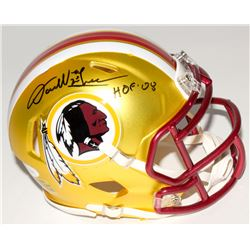 "Darrell Green Signed Redskins Mini Blaze Speed Helmet Inscribed ""HOF 08"" (JSA COA)"