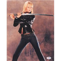 "Uma Thurman Signed ""Kill Bill"" 11x14 Photo (PSA COA)"