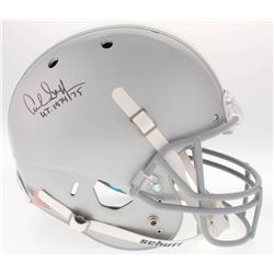 "Archie Griffin Signed Ohio State Buckeyes Full-Size Helmet Inscribed ""H.T. 1974/75"" (Radtke COA)"