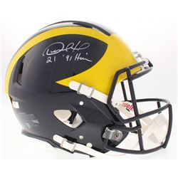 Desmond Howard Signed Michigan Wolverines Full-Size Authentic On-Field  Speed Helmet Inscribed
