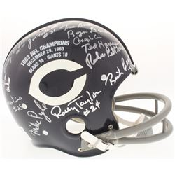 1963 Bears Suspension Full-Size Helmet Team-Signed By (24) With Mike Ditka, Rosey Taylor, Joe Fortun