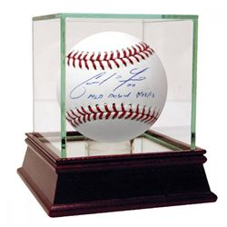 "Christian Yelich Signed Baseball Inscribed ""MLB Debut 7/23/13"" (Steiner Hologram)"