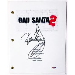 "Billy Bob Thornton Signed ""Bad Santa 2"" Full Movie Script (PSA COA)"