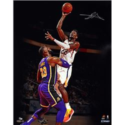 "Deandre Ayton Signed Suns ""Over LeBron"" 16x20 Limited Edition Photo (Game Day Legends COA  Steiner C"
