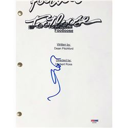 "Kevin Bacon Signed ""Footloose"" Full Movie Script (PSA COA)"