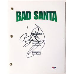 "Billy Bob Thornton Signed ""Bad Santa"" Full Movie Script (PSA COA)"