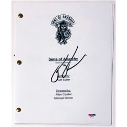 "Ron Perlman Signed ""Sons of Anarchy"" Full Pilot Episode Script (PSA COA)"