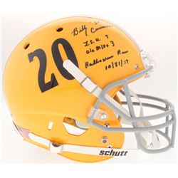 Billy Cannon Signed LSU Tigers Full-Size Helmet with Extensive Inscription (Radtke COA)