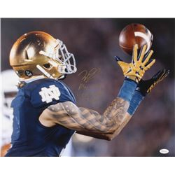 "Will Fuller Signed Notre Dame Fighting Irish 16x20 Photo Inscribed ""Play Like a Champion Today"" (JSA"