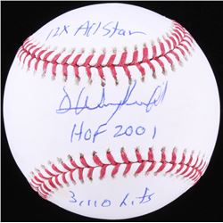 Dave Winfield Signed OML Baseball with (3) Inscriptions (JSA COA)