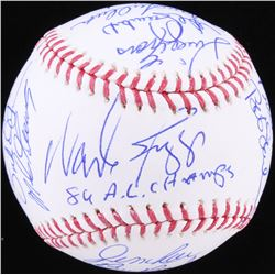 1986 Boston Red Sox AL Champs OML Baseball Signed by (23) with Jim Rice, Wade Boggs,  Bill Buckner,