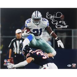 Ezekiel Elliott Signed Cowboys 16x20 Photo (Beckett COA)