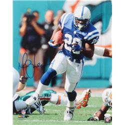 Marshall Faulk Signed Colts 16x20 Photo (JSA COA)