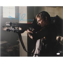 "Norman Reedus Signed ""The Walking Dead"" 16x20 Photo (JSA COA)"