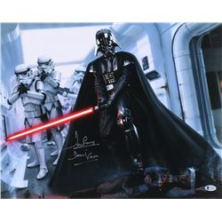 """David Prowse Signed """"Star Wars"""" 16x20 Photo Inscribed """"Is Darth Vader"""" (Beckett COA)"""