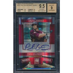 2010 Donruss Elite Extra Edition #191 Paul Goldschmidt AU / 820 (BGS 9.5)