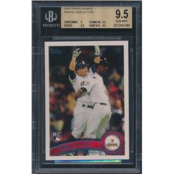 2011 Topps Update #US132 Jose Altuve RC (BGS 9.5)