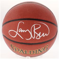Larry Bird Signed NBA Basketball (Schwartz COA  Bird Hologram)
