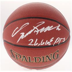 "Dominique Wilkins Signed Basketball Inscribed ""26,668 Pts"" (Schwartz COA)"