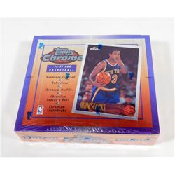 1996-97 Topps Chrome Basketball Hobby Box