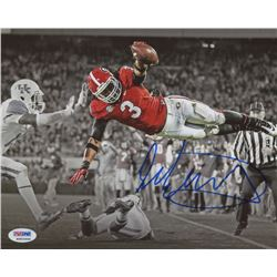 Todd Gurley Signed Georgia Bulldogs 8x10 Photo (PSA COA)