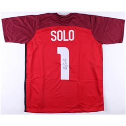 Hope Solo Signed Team USA Soccer Jersey (JSA COA)