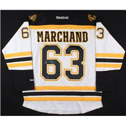 Brad Marchand Signed Bruins Jersey (Marchand Hologram  COA)