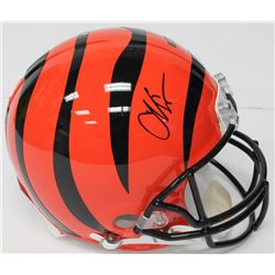 Chad Johnson Signed Bengals Authentic On-Field Full-Size Helmet (Beckett COA)