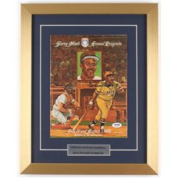 Willie Stargell Signed Forty-Ninth Hall of Fame Annual Program (PSA COA)