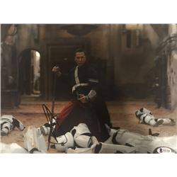 """Donnie Yen Signed """"Rogue One: A Star Wars Story"""" 11x14 Photo (Beckett COA)"""