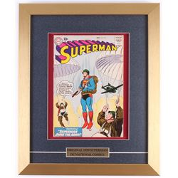 "Vintage 1959 ""Superman"" Issue #133 14x17 Custom Framed DC Comic Book"