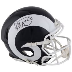 Todd Gurley Signed Rams Full-Size Authentic On-Field Helmet (Fanatics Hologram)