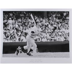 "The Hulton Archive - Mickey Mantle ""Home Run Ball"" Limited Edition 17x22 Fine Art Giclee on Paper #/"