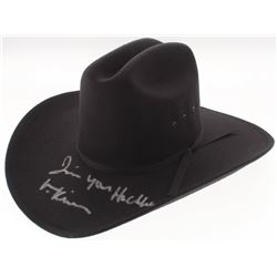 "Val Kilmer Signed ""Tombstone"" Cowboy Hat Inscribed ""I'm Your Huckleberry"" (Beckett COA)"