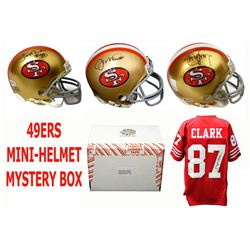San Francisco 49ers Signed Mystery Box Mini Helmet – World Champions Edition - Series 3 - (Limited