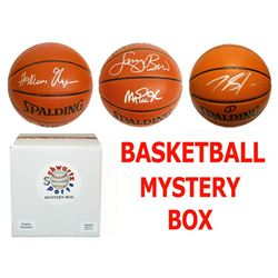 Schwartz Sports Basketball Superstar Signed Mystery Box Basketball - Series 7 (Limited to 75) (Prist