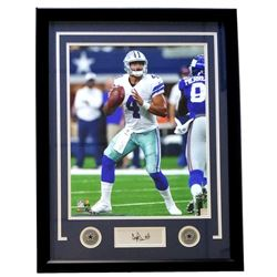Dak Prescott Cowboys 22x27 Custom Framed Photo Display