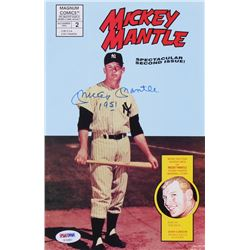 """Mickey Mantle Signed 1992 """"Mickey Mantle"""" Issue #2 Magnum Comic Book Inscribed """"1951"""" (PSA LOA)"""