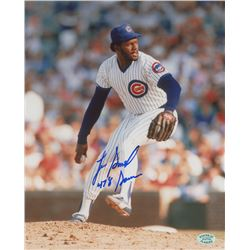 """Lee Smith Signed Cubs 8x10 Photo Inscribed """"478 Saves"""" (SOP COA)"""
