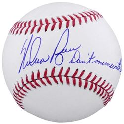 "Nolan Ryan Signed OML Baseball Inscribed ""Don't Mess with Texas"" (Fanatics Hologram)"